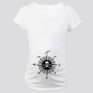 Compass Rose II Maternity T-Shirt